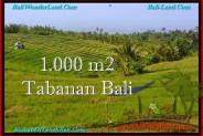 Beautiful PROPERTY LAND FOR SALE IN TABANAN BALI TJTB237