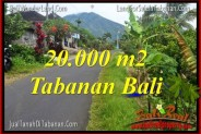 FOR SALE 20,000 m2 LAND IN TABANAN BALI TJTB315