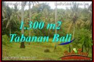 Affordable 1,300 m2 LAND IN TABANAN FOR SALE TJTB314