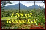 Magnificent LAND IN Tabanan Penebel BALI FOR SALE TJTB319