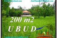 Exotic Sentral Ubud BALI LAND FOR SALE TJUB584