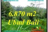 Affordable UBUD 6,870 m2 LAND FOR SALE TJUB602