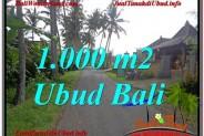 Exotic 1,000 m2 LAND SALE IN UBUD TJUB604