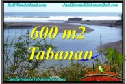 Magnificent 600 m2 LAND IN TABANAN FOR SALE TJTB344