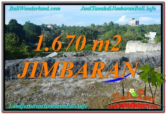 Magnificent 1,670 m2 LAND IN Jimbaran Ungasan FOR SALE TJJI116