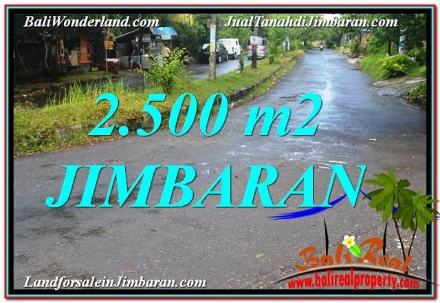 Magnificent PROPERTY Jimbaran Ungasan BALI 2,500 m2 LAND FOR SALE TJJI118